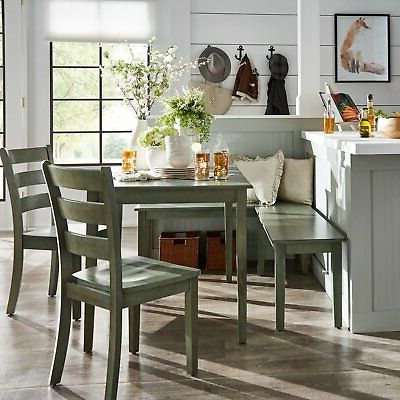Ebern Designs Lightle 5 Piece Breakfast Nook Dining Set – $ (View 5 of 20)