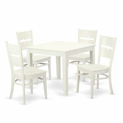 Ebern Designs Lightle 5 Piece Breakfast Nook Dining Set – $ (View 6 of 20)