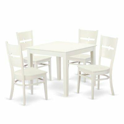 Ebern Designs Lightle 5 Piece Breakfast Nook Dining Set – $ (View 18 of 20)