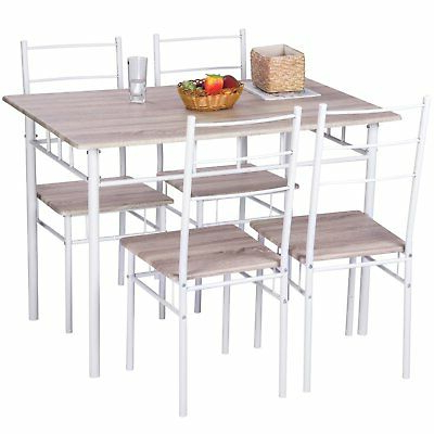 Ebern Designs Lightle 5 Piece Breakfast Nook Dining Set – $ (View 7 of 20)