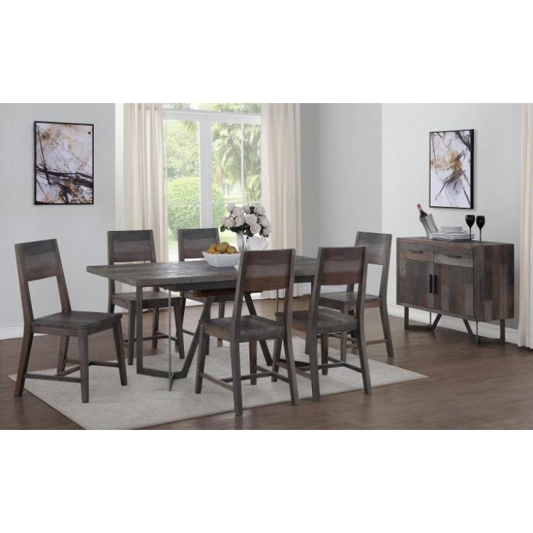 Famous Lonon 3 Piece Dining Sets Throughout Great Offers On London Reclaimed Pine Furniture From Oak Furniture House (View 8 of 20)
