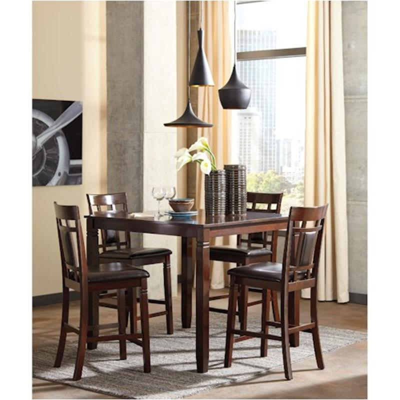 Fashionable Anette 3 Piece Counter Height Dining Sets Regarding D384 223 Ashley Furniture Bennox 5pc Counter Height Set (View 18 of 20)