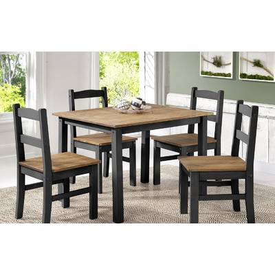 Fashionable Castellanos Modern 5 Piece Counter Height Dining Sets Within Union Rustic Castellanos Modern 5 Piece Counter Height Dining Set (Gallery 11 of 20)
