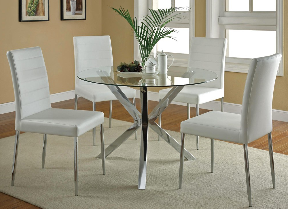 Fashionable Lonon 3 Piece Dining Sets With Regard To 3 Piece Round Dining Set (View 7 of 20)