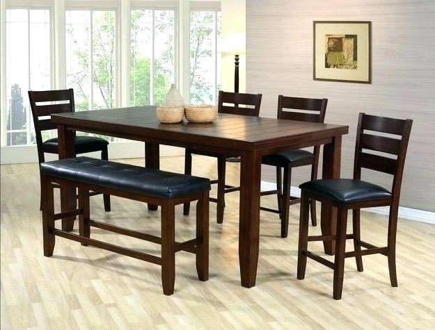 Fashionable Putney 5 Piece Counter Height Breakfast Nook Dining Set Bar Within Denzel 5 Piece Counter Height Breakfast Nook Dining Sets (View 10 of 20)