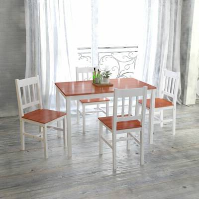 Favorite Alcott Hill Nelligan 6 Piece Breakfast Nook Dining Set & Reviews Intended For Sundberg 5 Piece Solid Wood Dining Sets (View 10 of 20)