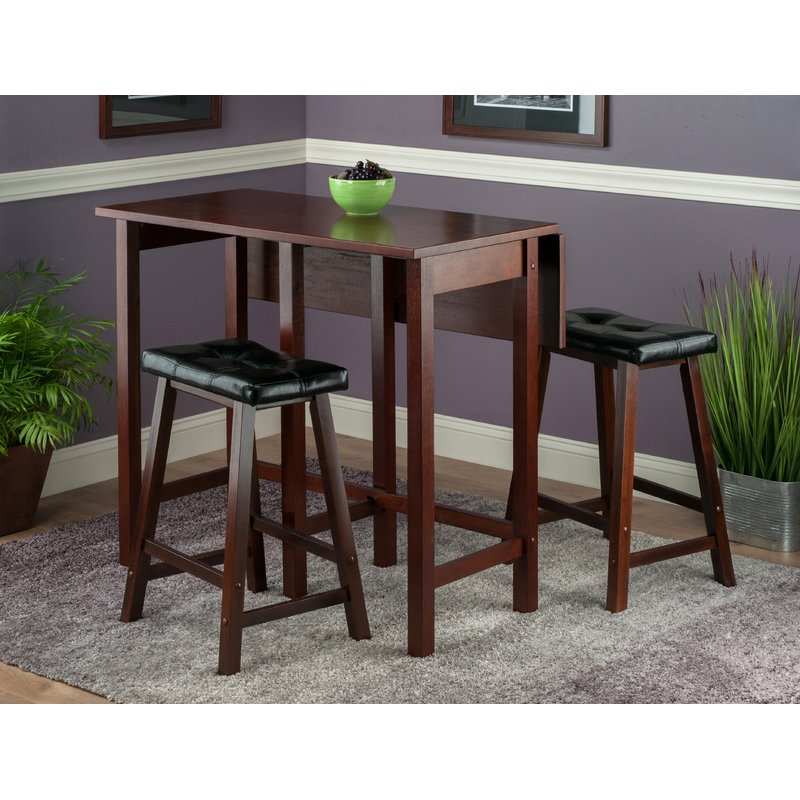 Featured Photo of Bettencourt 3 Piece Counter Height Dining Sets
