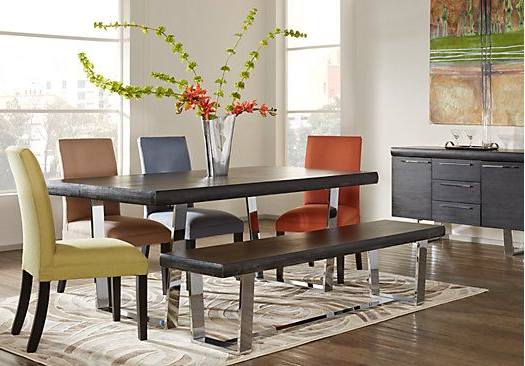 Favorite Cindy Crawford Home San Francisco Chalk 5 Pc Dining Room (Gallery 15 of 20)