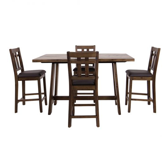 Favorite Falmer 3 Piece Solid Wood Dining Sets Regarding Formal & Casual Dining Room Furniture Sets (View 9 of 20)