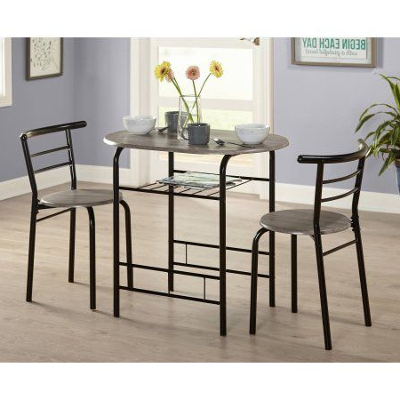 Favorite Kieffer 5 Piece Dining Sets Intended For 3 Piece Bistro Set, Multiple Colors, Home Furniture, Pub Table (View 14 of 20)
