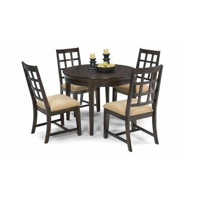Favorite Wholesale Interiors Baxton Studio Keitaro 5 Piece Dining Set For Baxton Studio Keitaro 5 Piece Dining Sets (View 12 of 20)