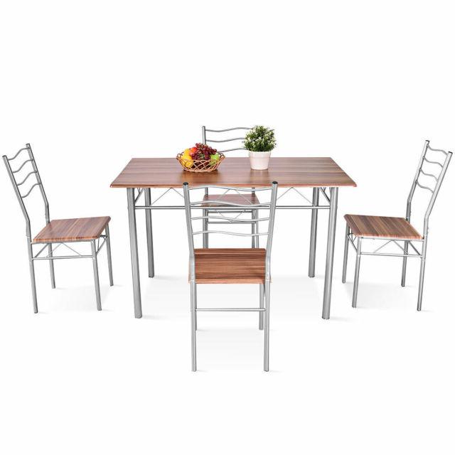 Favorite Winston Porter Miskell 5 Piece Dining Set (Gallery 1 of 20)