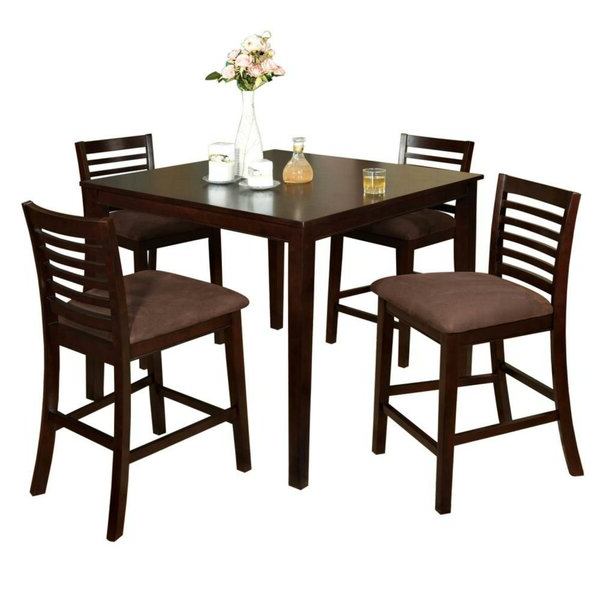 Feliciano Classy 5 Piece Dining Setdarby Home Co Modern On (View 18 of 20)