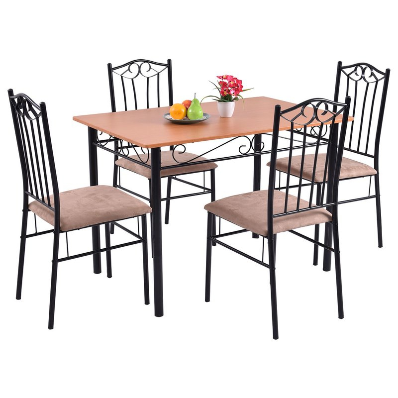 Fleur De Lis Living Rossi 5 Piece Dining Set & Reviews (View 6 of 20)