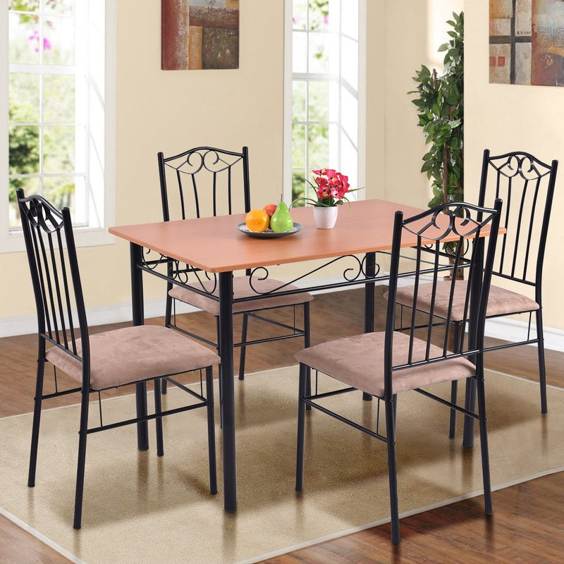 Featured Photo of Rossi 5 Piece Dining Sets