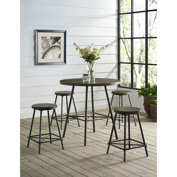 Fresh Cedar Creek 5 Piece Dining Setthree Posts Discount For Most Recently Released Honoria 3 Piece Dining Sets (View 18 of 20)