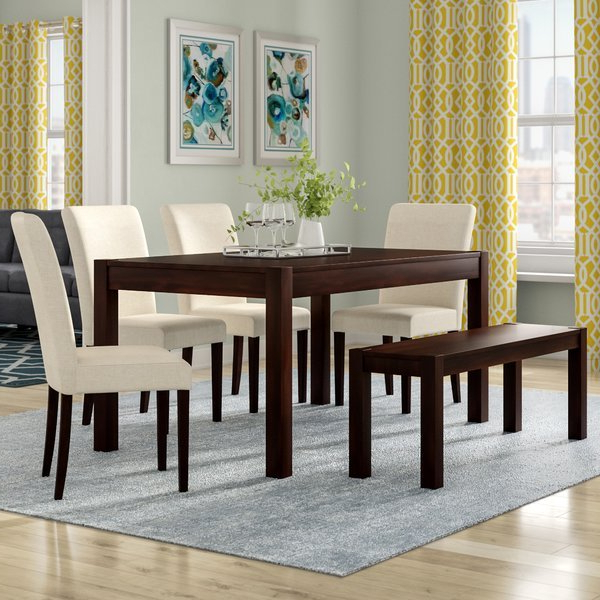 Furniture Style – Smaller Dining Tables – Sofa & Furniture For Most Popular Laconia 7 Pieces Solid Wood Dining Sets (Set Of 7) (View 7 of 20)