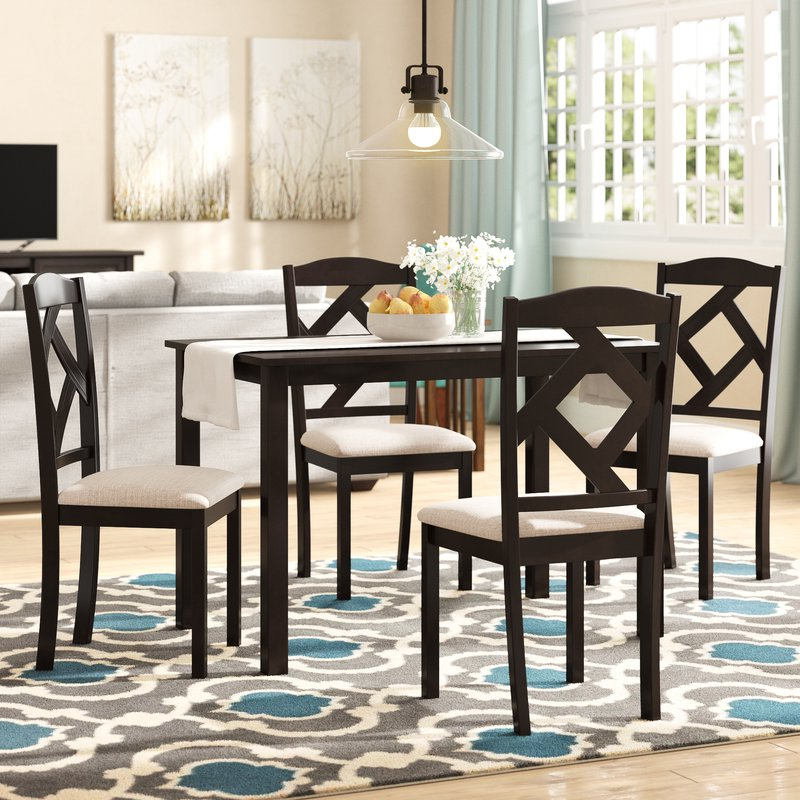 Goosman Modern And Contemporary 5 Piece Breakfast Nook Dining Set In 2020 5 Piece Breakfast Nook Dining Sets (Gallery 5 of 20)