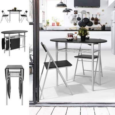 Honoria 3 Piece Dining Sets With 2019 Orren Ellis Camron 6 Piece Dining Set (View 6 of 20)
