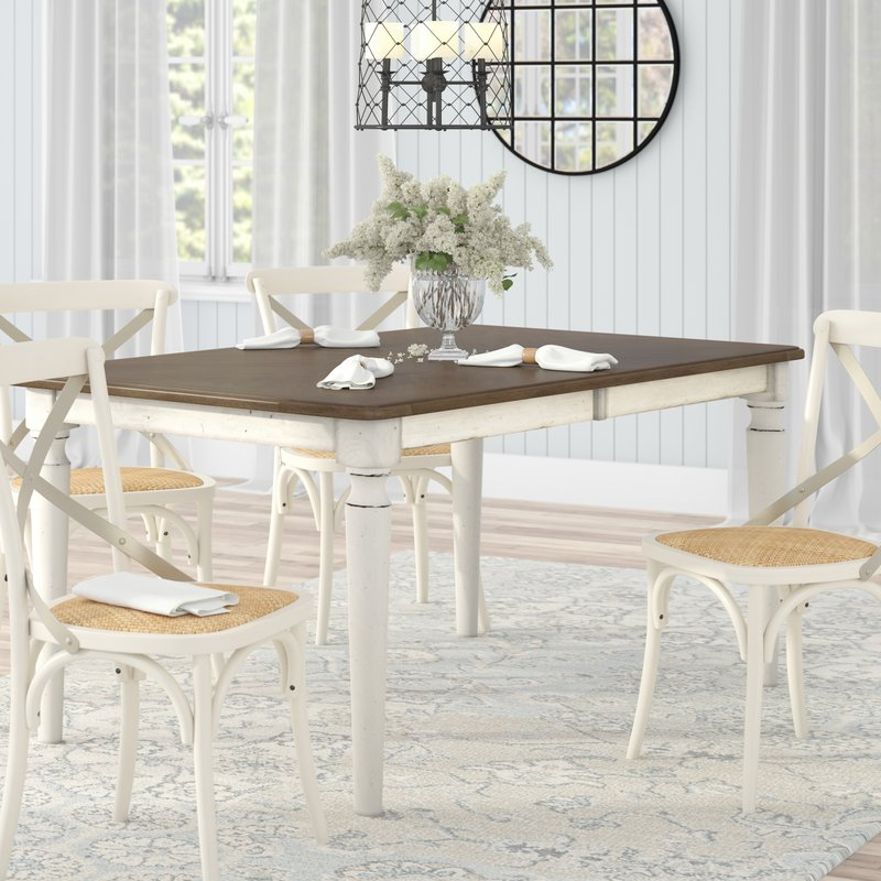 Isolde 3 Piece Dining Sets Throughout Most Up To Date Baleine Extendable Dining Table & Reviews (Gallery 20 of 20)