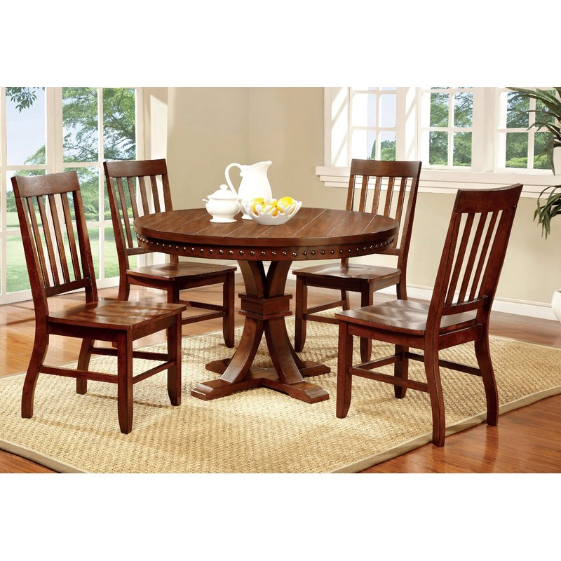 Jarrod 5 Piece Dining Sets Intended For Best And Newest Hokku Designs Jared 5 Piece Dining Set & Reviews (Gallery 10 of 20)