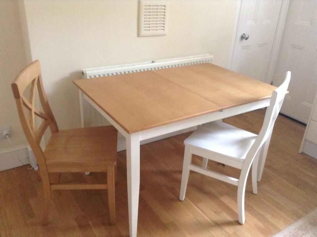 John Lewis Alba 4 6 Seater Extending Dining Table With Chairs, White Intended For Most Recent John 4 Piece Dining Sets (Gallery 6 of 20)