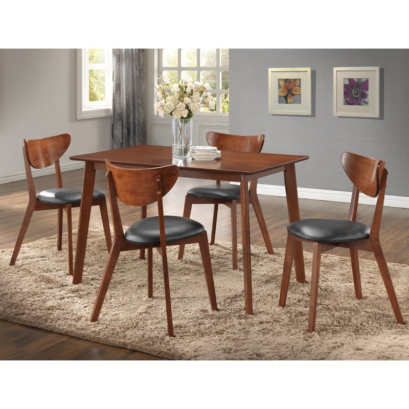 Joss & Main For Tejeda 5 Piece Dining Sets (Gallery 7 of 20)