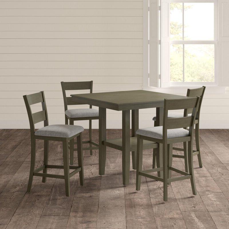 Joss & Main Inside Bettencourt 3 Piece Counter Height Dining Sets (View 13 of 20)