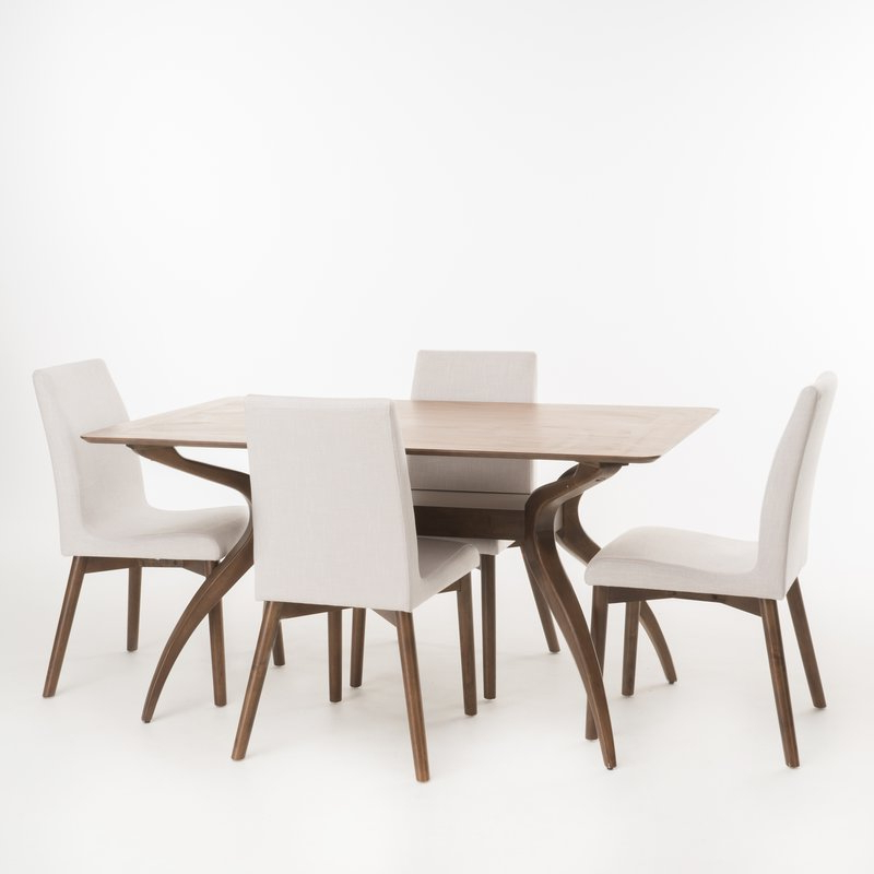 Joss & Main Intended For Preferred Liles 5 Piece Breakfast Nook Dining Sets (View 8 of 20)