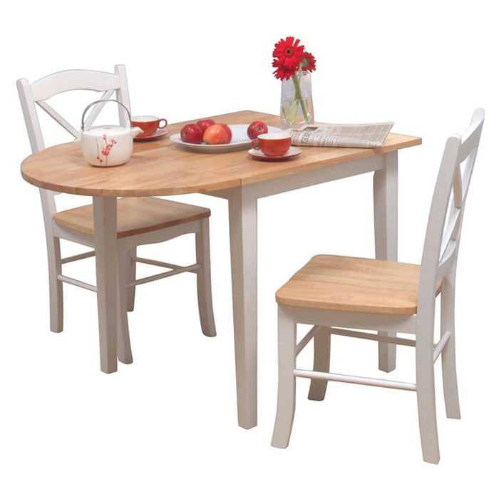 Joss & Main Pertaining To Most Recently Released 3 Piece Dining Sets (View 12 of 20)