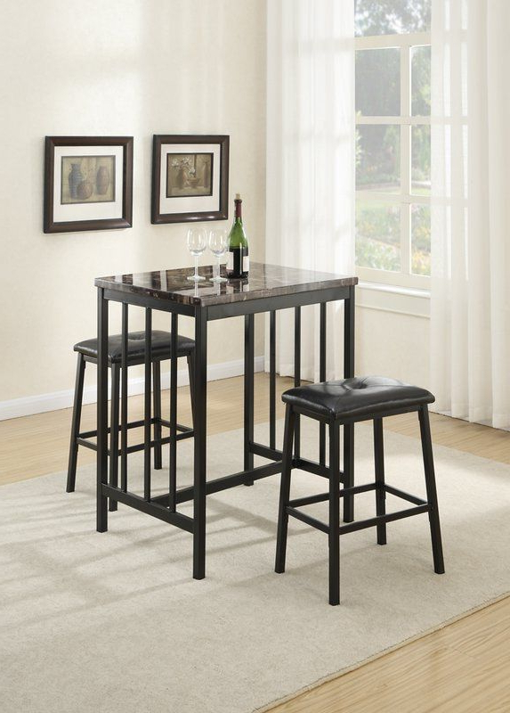 Kelly Borden Inside Presson 3 Piece Counter Height Dining Sets (Gallery 1 of 20)