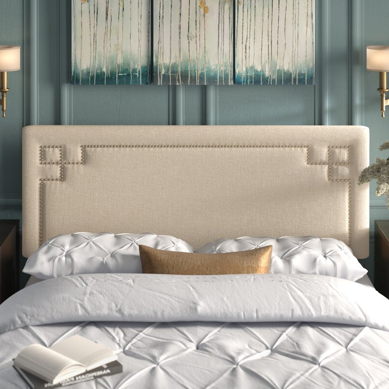 Kerley Upholstered Panel Headboard & Reviews (View 10 of 20)
