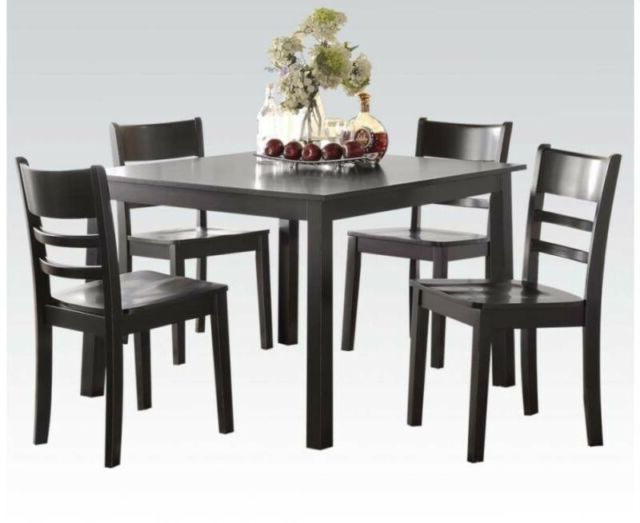 Kernville 3 Piece Counter Height Dining Sets In Preferred A&j Homes Studio Reagan 5 Piece Counter Height Dining Set (View 7 of 20)