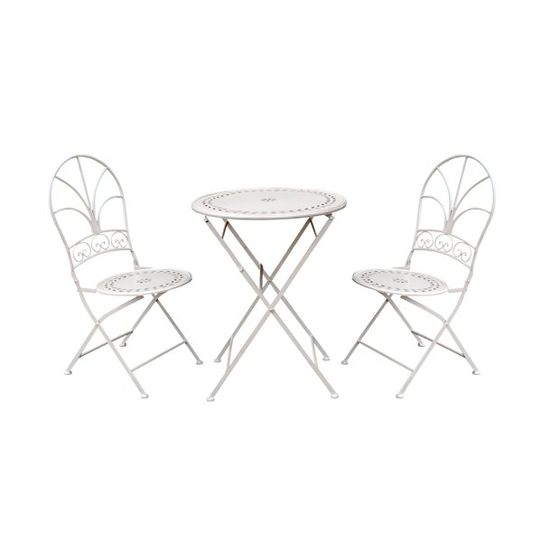 Kinsler 3 Piece Bistro Sets Pertaining To Recent 3 Piece Tall Bistro Set (View 13 of 20)