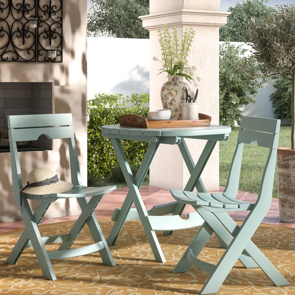 Kinsler 3 Piece Bistro Sets With Well Known Kinsler 3 Piece Bistro Set (View 9 of 20)