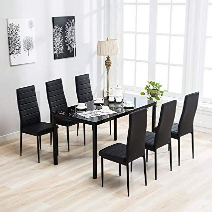Kitchen Chairs With Regard To Travon 5 Piece Dining Sets (View 4 of 20)
