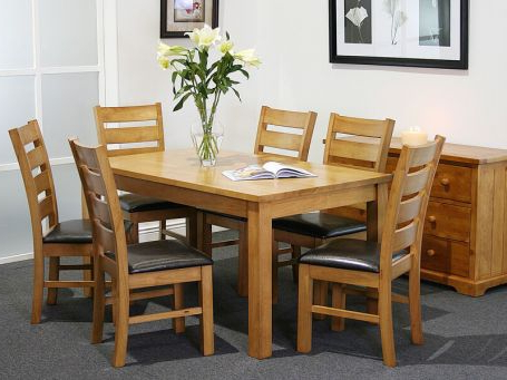 Kitchen & Dining Furniture – Furniture Pertaining To Current Evellen 5 Piece Solid Wood Dining Sets (Set Of 5) (View 11 of 20)