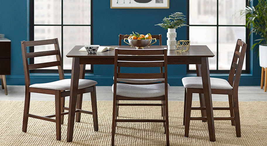 Kitchen & Dining Furniture – Walmart In Famous Moorehead 3 Piece Counter Height Dining Sets (View 9 of 20)