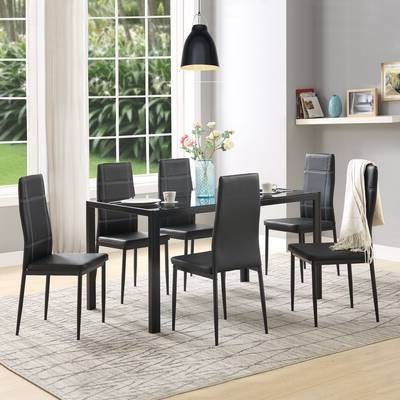 Featured Photo of Lamotte 5 Piece Dining Sets
