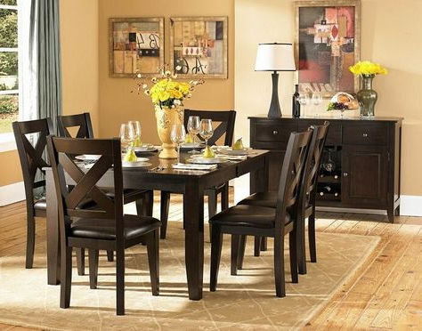 Latest Carriage Hill 7 Piece Extendable Dining Set With Regard To Pratiksha Sonoma 5 Piece Dining Sets (View 4 of 20)