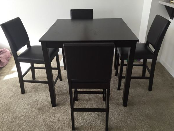 Latest Jarrod 5 Piece Dining Sets Inside Jarrod 5 Piece Dining Counter Set Bought From Living Spaces For Sale (View 10 of 20)