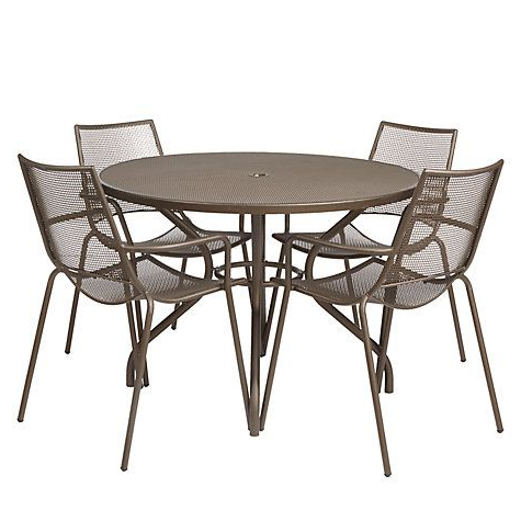 Latest John 4 Piece Dining Sets Inside John Lewis & Partners Ala Mesh 4 Seater Garden Dining Table And (Gallery 16 of 20)