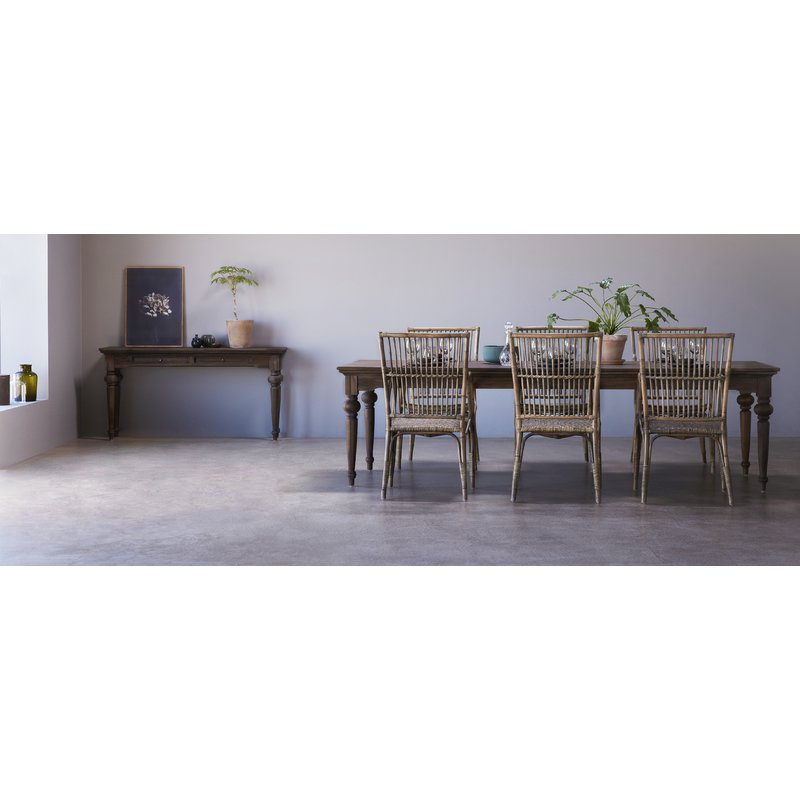 Latest Linette 5 Piece Dining Table Sets With Ambash Solid Wood Dining Table (View 7 of 20)
