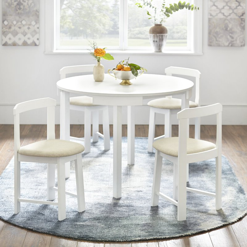 Latest Mabelle 5 Piece Dining Set & Reviews (Gallery 7 of 20)