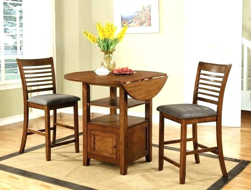 Latest Small 3 Piece Dining Set – Aligner Intended For Debby Small Space 3 Piece Dining Sets (View 9 of 20)