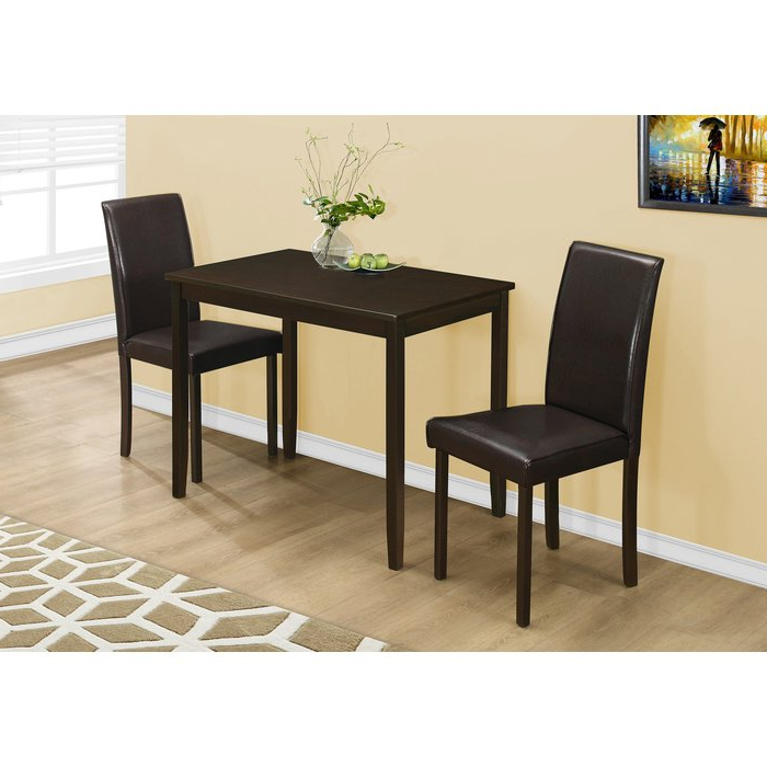 Latitude Run Baillie 3 Piece Dining Set & Reviews (View 2 of 20)