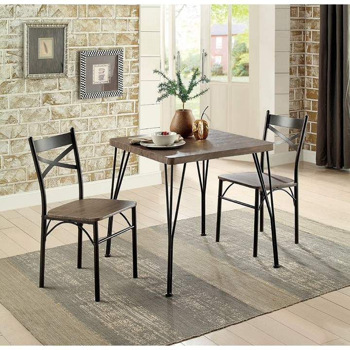 Laurel Foundry Modern Farmhouse Guertin 3 Piece Dining Set In 2019 With Most Up To Date Kieffer 5 Piece Dining Sets (View 14 of 20)