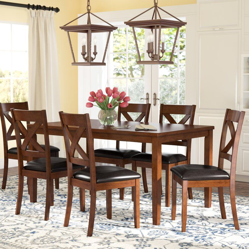 Laurel Foundry Modern Farmhouse Guertin 3 Piece Dining Set In 2019 Within Preferred Middleport 5 Piece Dining Sets (Gallery 18 of 20)