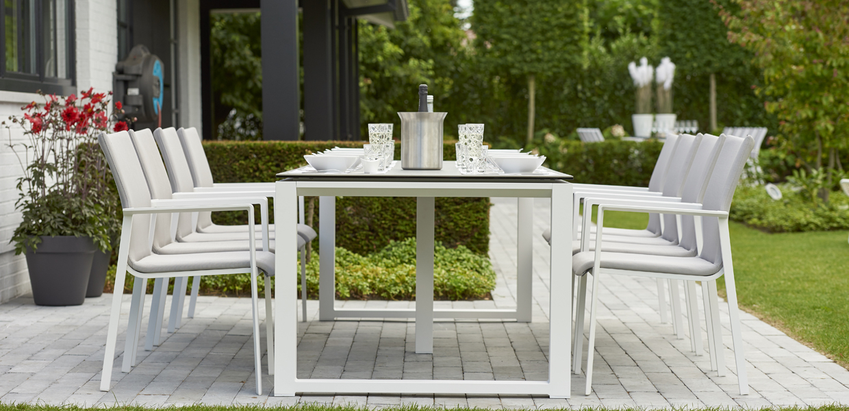 Life Outdoor Living Throughout Current Osterman 6 Piece Extendable Dining Sets (Set Of 6) (View 5 of 20)