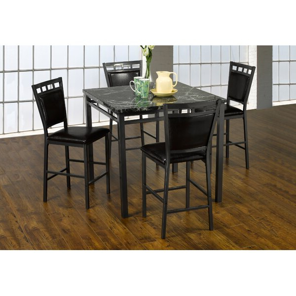 Looking For Kistner Marble 5 Piece Dining Setred Barrel Studio In Current Lamotte 5 Piece Dining Sets (View 17 of 20)